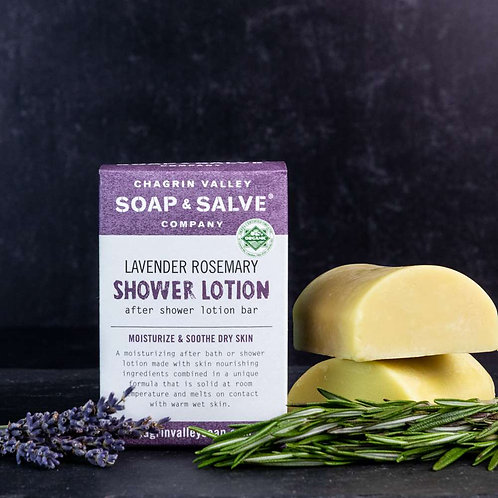 Lavender Rosemary Shower Lotion
