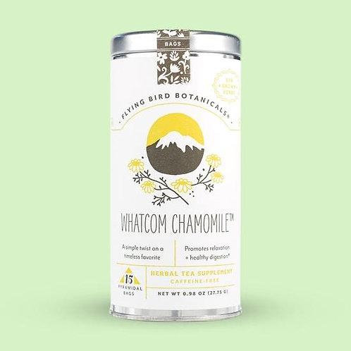 Whatcom Chamomile Tea Bags