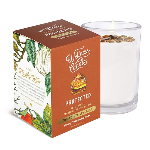 Wellness Candle - Protected (8 oz)