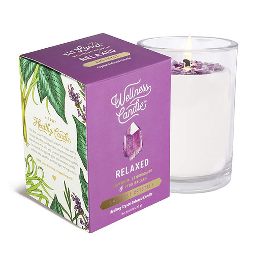Wellness Candle - Relaxed (8 oz)
