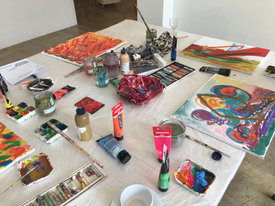 Materialien für Kreativ Coaching