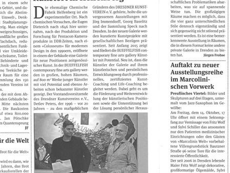 Artikel im Elbhangkurier 10/2016
