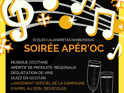 SOIRÉE APÉR'OC