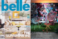 Belle magazine feature