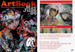 Art Book cover and feature