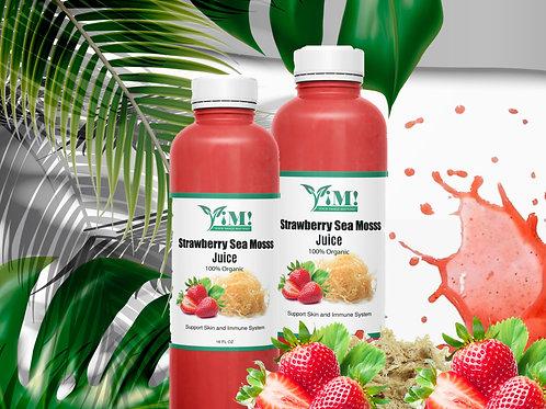 Strawberry Sea Moss Juice