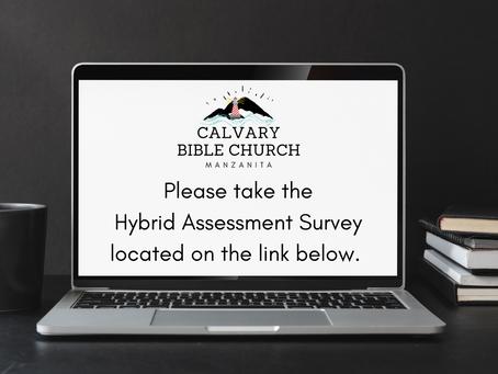 Hybrid Assessment Survey