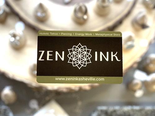 Zen Ink Gift Card