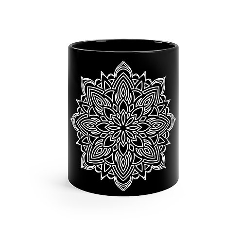 Black mug 11oz - Design by Violit B. Hartwell