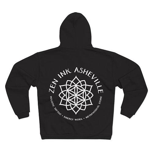 Zen Ink Unisex Hooded Zip Sweatshirt
