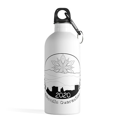 AQ2020 Stainless Steel Water Bottle - Design by Violit B. Hartwell