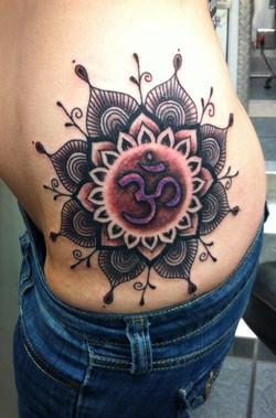 Ohm Mandala Tattoo