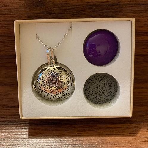 Harmony - Flower of Life Aromatherapy Pendant Necklace