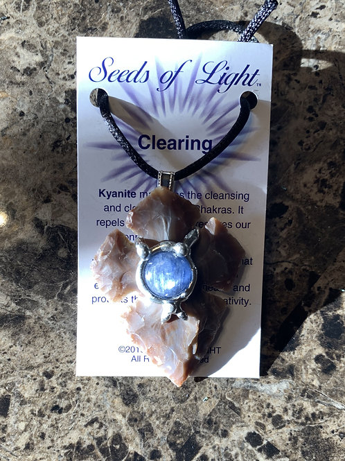 """Seeds of Light """"Clearing"""" Necklace"""