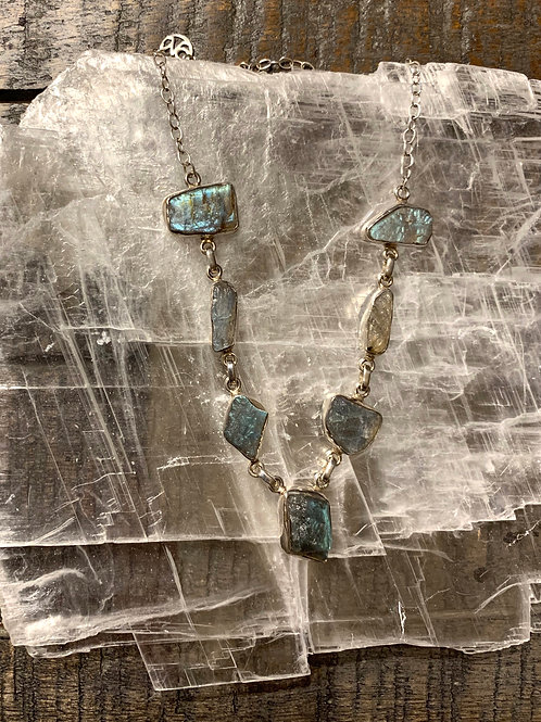 Labradorite Stone Designer Gemstone Necklace