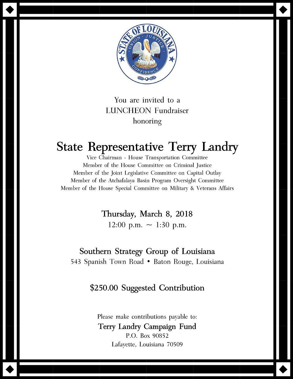 Hosted by Southern Strategy Group of Louisiana