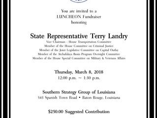 Luncheon Fundraiser honoring Representative Terry Landry