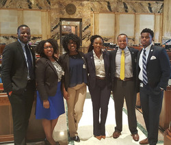 2017 SULC Law Interns in the House