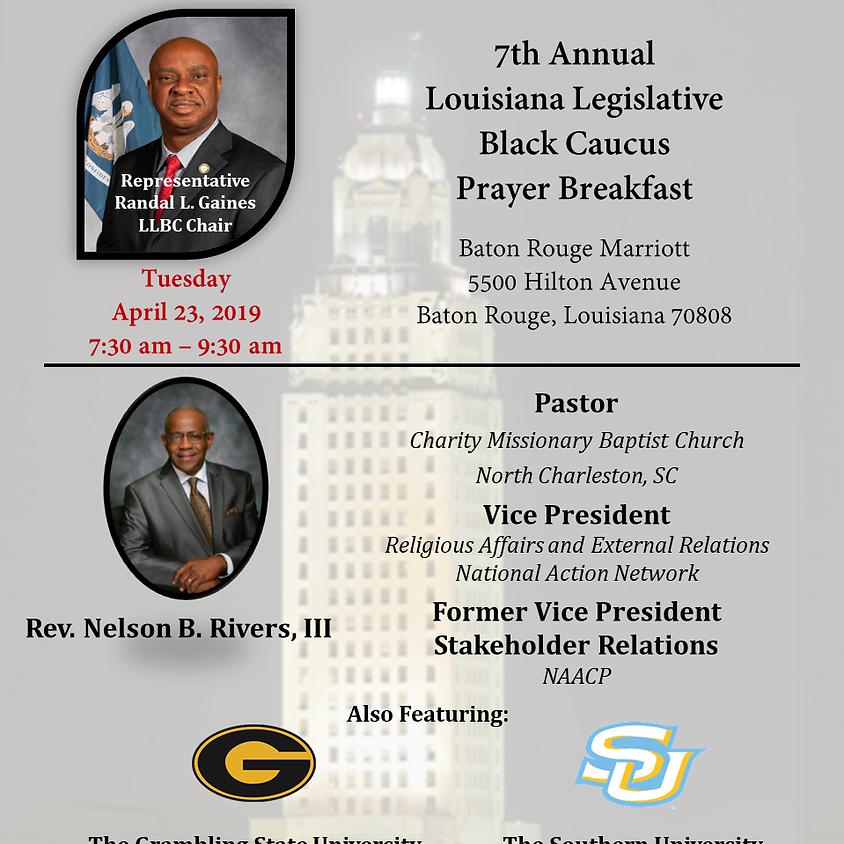7th Annual Legislative Black Caucus Prayer Breakfast