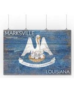 Marksville Plaque