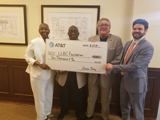 AT&T Supports LLBC Scholarship Fund