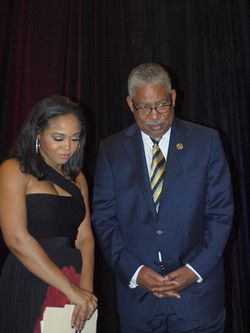 Judge Faith Jenkins & SU Pres Dr Ray Belton