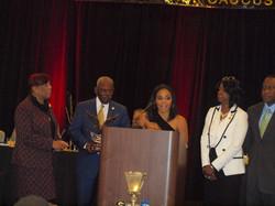 Judge Faith Jenkins & LLBC Members