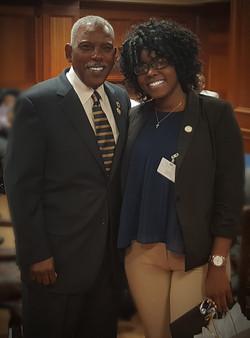 Dr. Bouie (LLBC Chair)-Mr. Clark-New Orleans, La