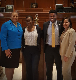 Ms. Buggage-Ms. Clark-Mr. King-Dr. Shavers on the House Floor
