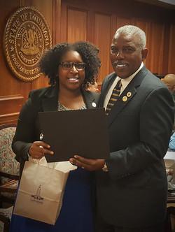 Dr. Bouie (LLBC Chair)-Mr. Wheeler-Baton Rouge, La