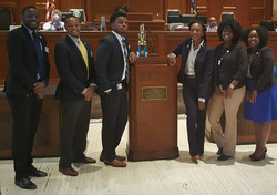 2017 LLBC SULC Law Interns on the House Floor