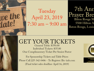 Save the Date - April 23, 2019