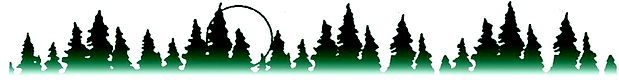 Logo of green trees