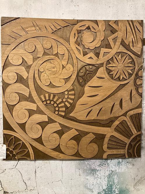 4' X 4' Art Deco Panel