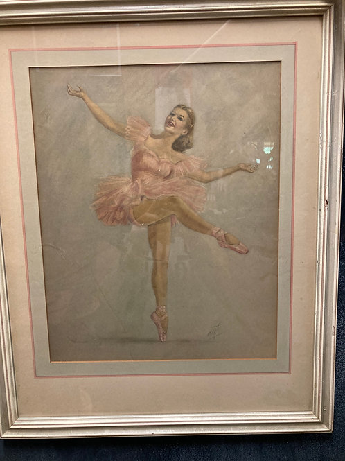 Vintage Ballerina Prints