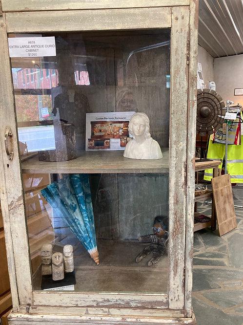 Extra Large Antique Curio Cabinet