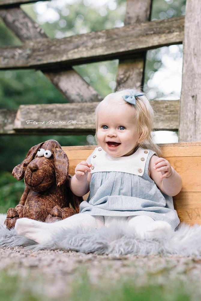 Lilla Astrid 7 månader