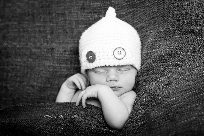 Nyföddsfotografering -Karlskrona