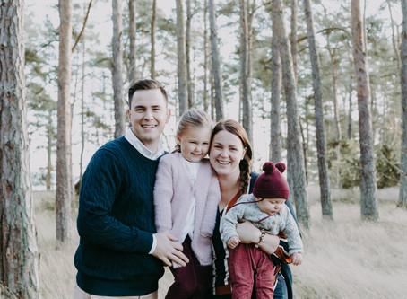 Familjefotografering i Fulvik