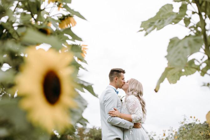 Bröllop mellan Michaela och Kevin