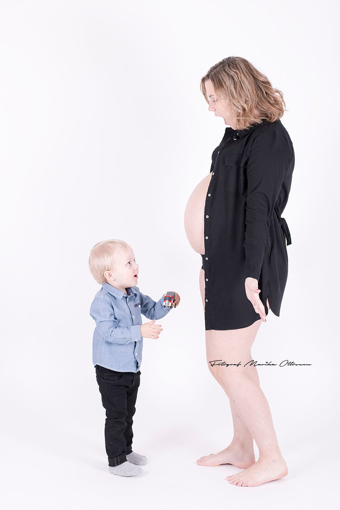 Gravidfotografering på årets näst sista dag