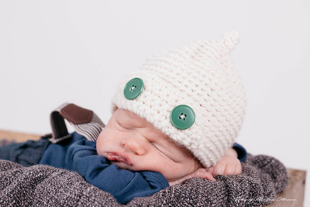 Lille Tim 6 dagar gammal