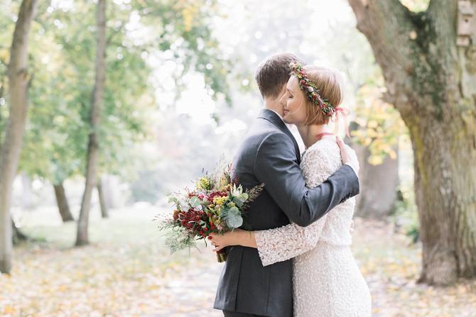 Höstbröllop i Sölvesborg, Blekinge