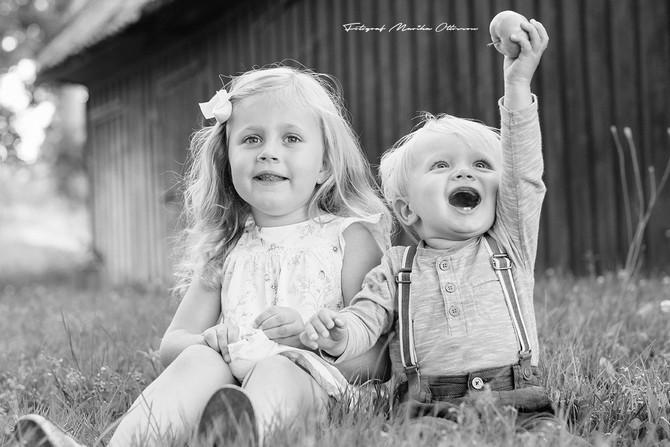 Barnfotograferingar -Karlskrona
