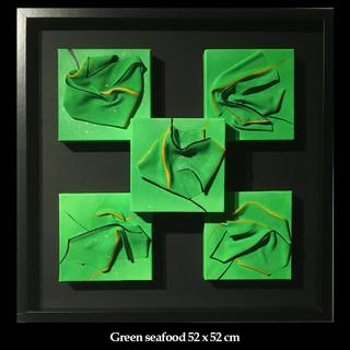 Green seafood, 52 x 52 cm.jpg