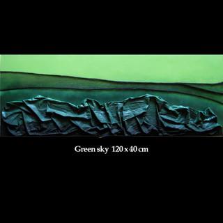 Green sky  120 x 40 cm.jpg