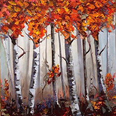 The rosy forest 60x40cm.jpg