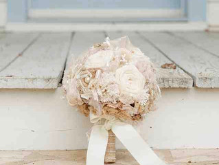 How To Make Fabric Bouquets For Your Wedding