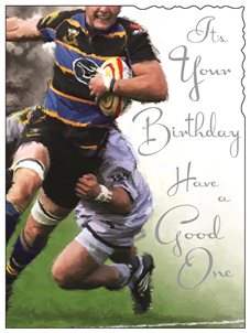 Jonny Javelin Happy Birthday - Rugby