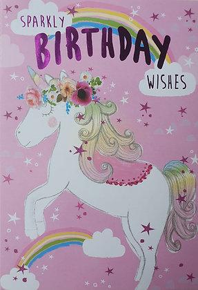 Sparkly Birthday Wishes